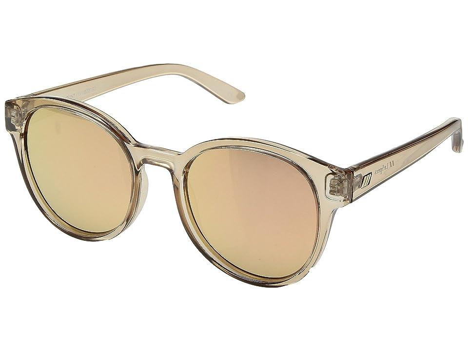 Le Specs Paramount (Tan/Brass Revo Mirror) Fashion Sunglasses