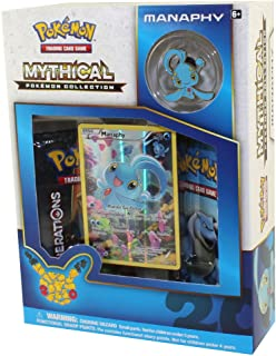 Pokemon Manaphy Mythical Collection Generations Booster Box Set - 2 booster packs + more!