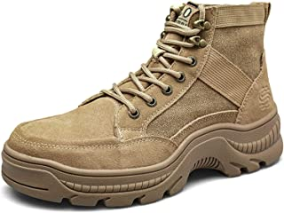 Mens Steel Toe Work Boots Lightweight Industrial...