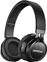 Mpow Thor Cascos Bluetooth Inalámbrico, 2 en 1 Auriculares Bluetooth Diadema(Bluetooth, 3.5mm Cable, 8 Hrs de Reproducción ), Cascos Cerrados Plegable con Micrófono para TV/Móvil/PC,Negro