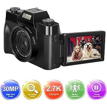 Camara de Fotos Cámara Digital Full HD 1080P 30.0MP Camara Fotos ...