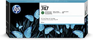 HP 747 Chromatic Green 300-ml Genuine Ink Cartridge (P2V84A) for DesignJet Z9+ Large Format Printers