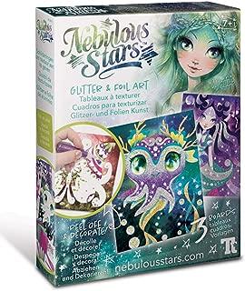 NEBULOUS STARS  Glitter & Foil Art
