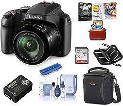 Panasonic Lumix DC-FZ80 Digital Point & Shoot Camera - Bundle with 16GB SDHC Card, Camera Bag, Cleaning Kit, Memory Wallet...