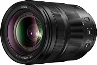 Panasonic LUMIX S 24 105mm F4 Lens, Full Frame L Mount, Optical Image Stabilizer and Rugged Dust/Splash/Freeze Resistant for Panasonic LUMIX S Series Mirrorless Cameras   S R24105 (USA)