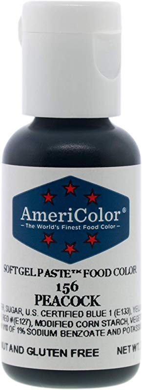 Food Coloring AmeriColor Peacock Soft Gel Paste 75 Ounce