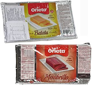 2 PACK DULCE DE BATATA DULCE MEMBRILLO SPREAD SWEET POTATO JAM QUINCE JELLY 850G