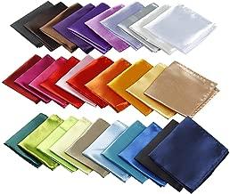 Mens Pocket Squares Handkerchief For Wedding Party (12/30 Pcs)