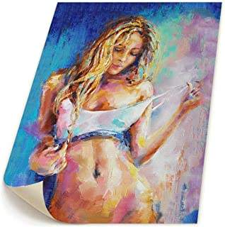 Hd8yehao Naked Girl, Nude Woman, Erotic Female Figurative Canvas Wall Art Prints Picture Contemporary Paintings Home Decoration Giclee Artwork-NO Frame 19
