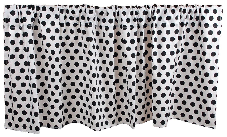 Tadpoles Damask Window New product! New type Black Valance Superior White