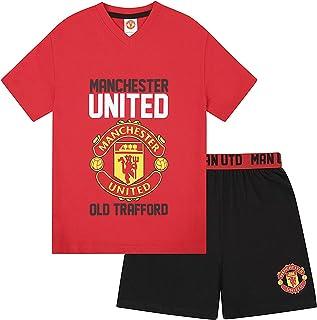 comprar comparacion Manchester United FC - Pijama corto para niño - Producto oficial