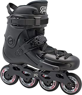 FR Skates FR3 Black 80 2019 - Inline Skates Freeride, Slalom, City Skating. Popular French Brand