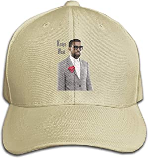 REVESS Adult Custom Kanye West Dad Hat Comfortable Baseball Hats