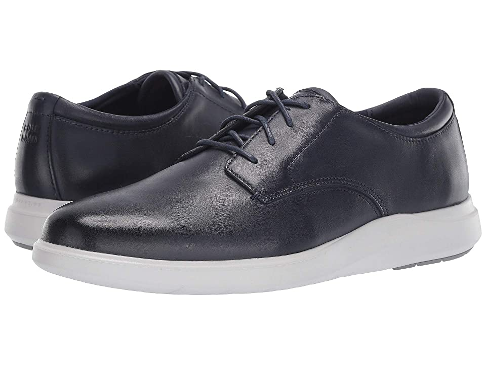 Cole Haan Grand Plus Essex Wedge Oxford (Navy Leather) Men