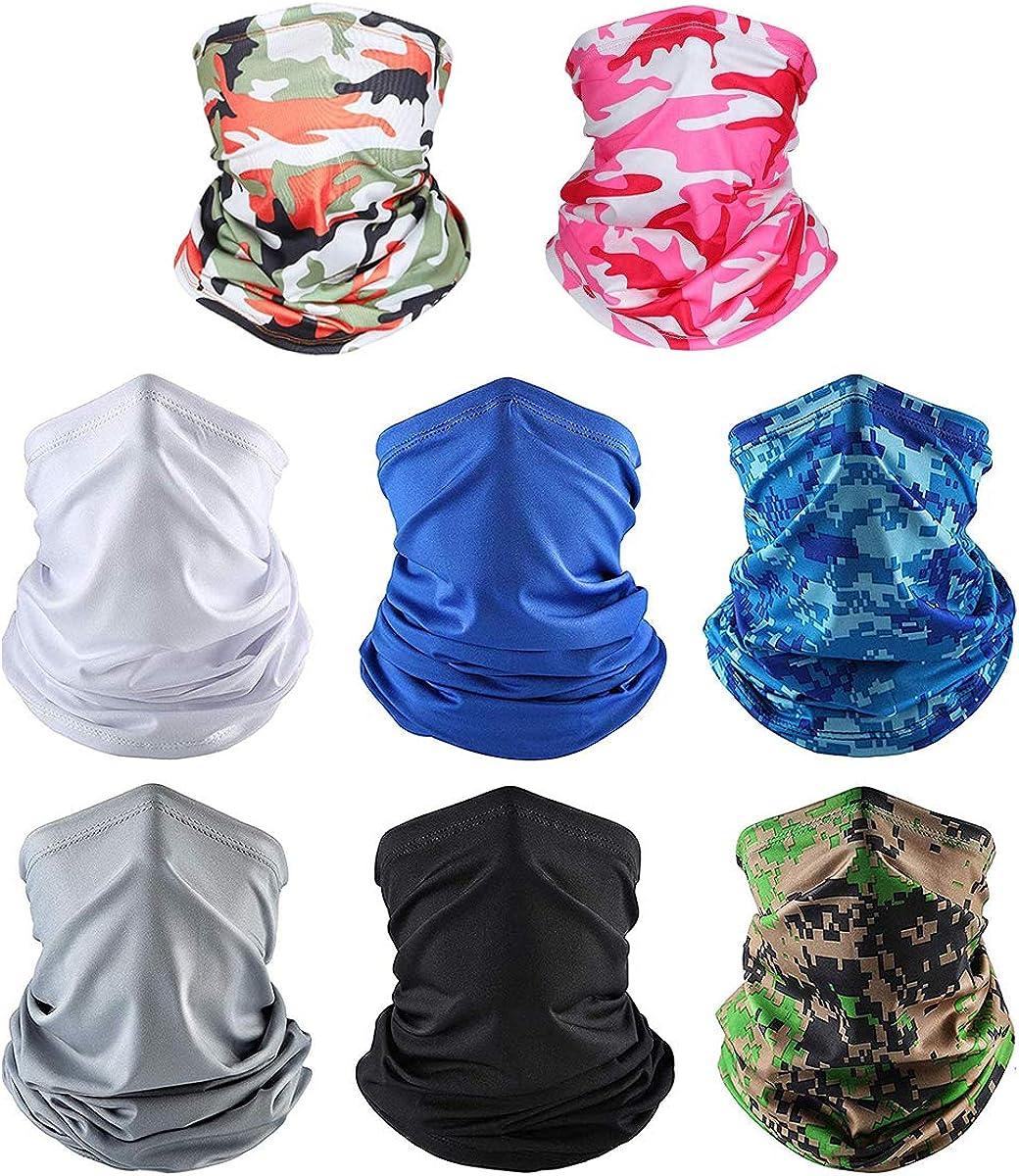 HiRAKU Free Shipping supreme New 8 PCS Balaclava Face Mask for Protecti Men UV Women Sun