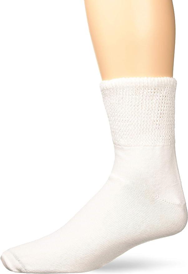 Extra Wide Comfort Athletic Quarter Socks