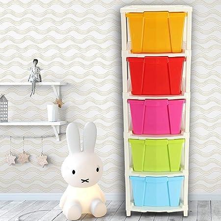 OWLSTONE EXIM LLP Cabinet, Multicolour, XL, Square, 3.34 X 3.54 X 11.41 Inches