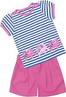 JoJo Maman Bebe Little Elephant T-Shirt & Shorts Set