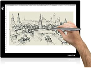 Huion L4S 17.7 Inches LED Light Box A4 Ultra-Thin USB Powered Adjustable Light Pad for Tracing