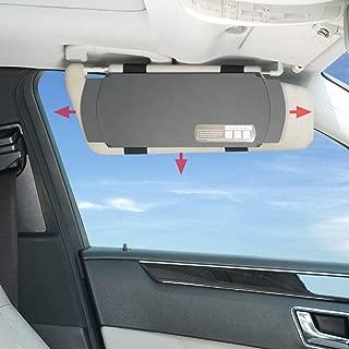 Best black windshield visor Reviews
