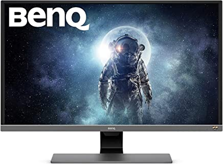 BenQ 31.5 inch 4K HDR Video Enjoyment Monitor (EW3270U), UHD, 3840x2160, VA, 10 Bit, 95% DCI-P3, 100% Rec.709, FreeSync, Eye-Care, Anti-Glare, Brightness Intelligence Plus, USB-C, HDMI x2, DP1.4