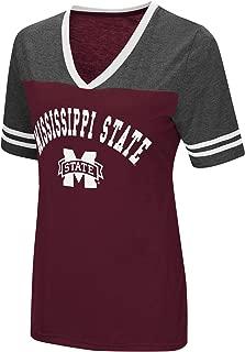 Women's NCAA Varsity Jersey V-Neck T-Shirt