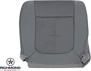 Richmond Auto Upholstery - Driver Side Bottom Replacement Cloth Seat Cover, Gray (Compatible with 2011-2014 Ford F-150 XLT STX XL Super-Cab Quad-Cab Extended-Cab)