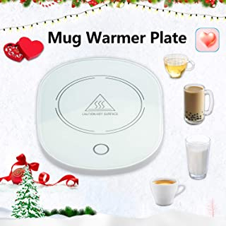 Coffee Cup Mug Warmers with Automatica Shut off,Electric Coffee Cup Mug Warmers for Desk with Auto Shut Off(Coffee,Milk,Water)-Christmas Gift