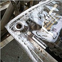 GYOWEI transparant waterdicht zeildoek, regendicht stofdicht buitendeksel PVC kunststof plantentarpen, dikte 0,3 mm, 400 ...