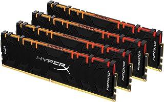 HyperX Predator RGB 128GB 3600MHz DDR4 CL18 DIMM XMP (Kit of 4) HX436C18PB3AK4/128