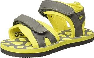 Chalk by Pantaloons Boy's Yellow Outdoor Sandals-8.5 Kids UK (26 EU) (880000982)