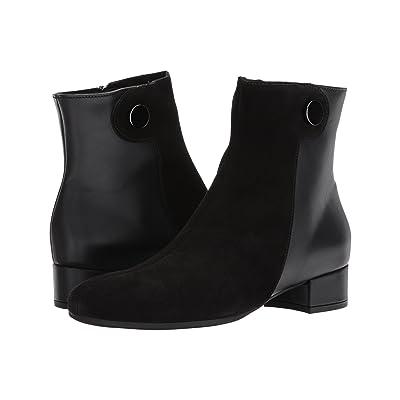 La Canadienne June (Black Suede/Leather) Women