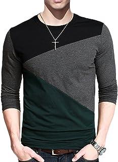 تی شرت پنبه ای آستین کوتاه و بلند آستین کوتاه مردانه Yong Horse