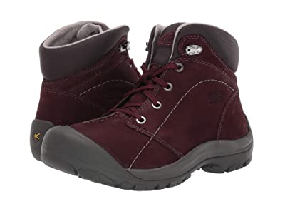 Keen Kaci Winter Mid Waterproof (Winetasting/Steel Grey) Women