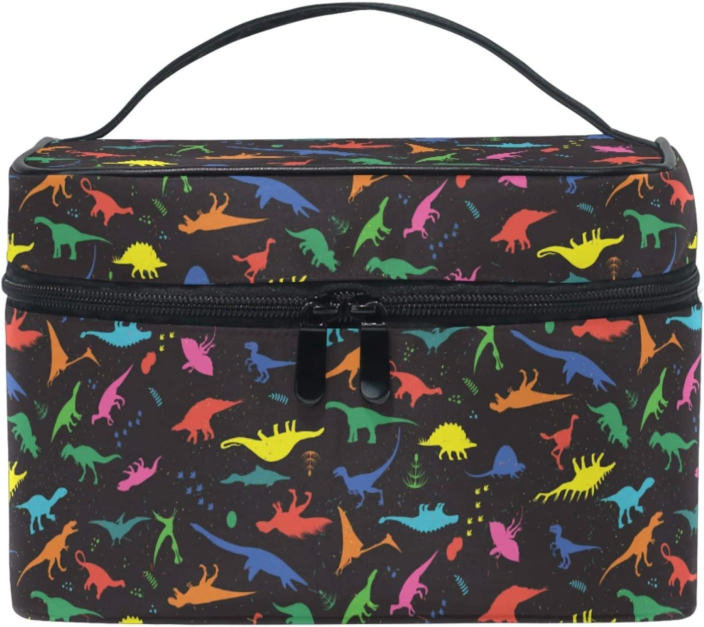 Makeup Bag Dinosaurs Travel Many popular brands Organizer Cosmetic Cases NEW before selling ☆