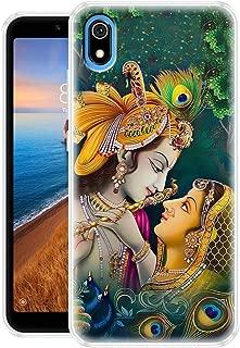 Fashionury Krishna Designer Printed Soft Silicone Mobile Case Back Cover for Redmi 7A/ Designer Back Cover for Xiaomi Redmi 7A