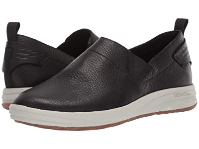 Merrell Gridway Moc Leather (Black) Women