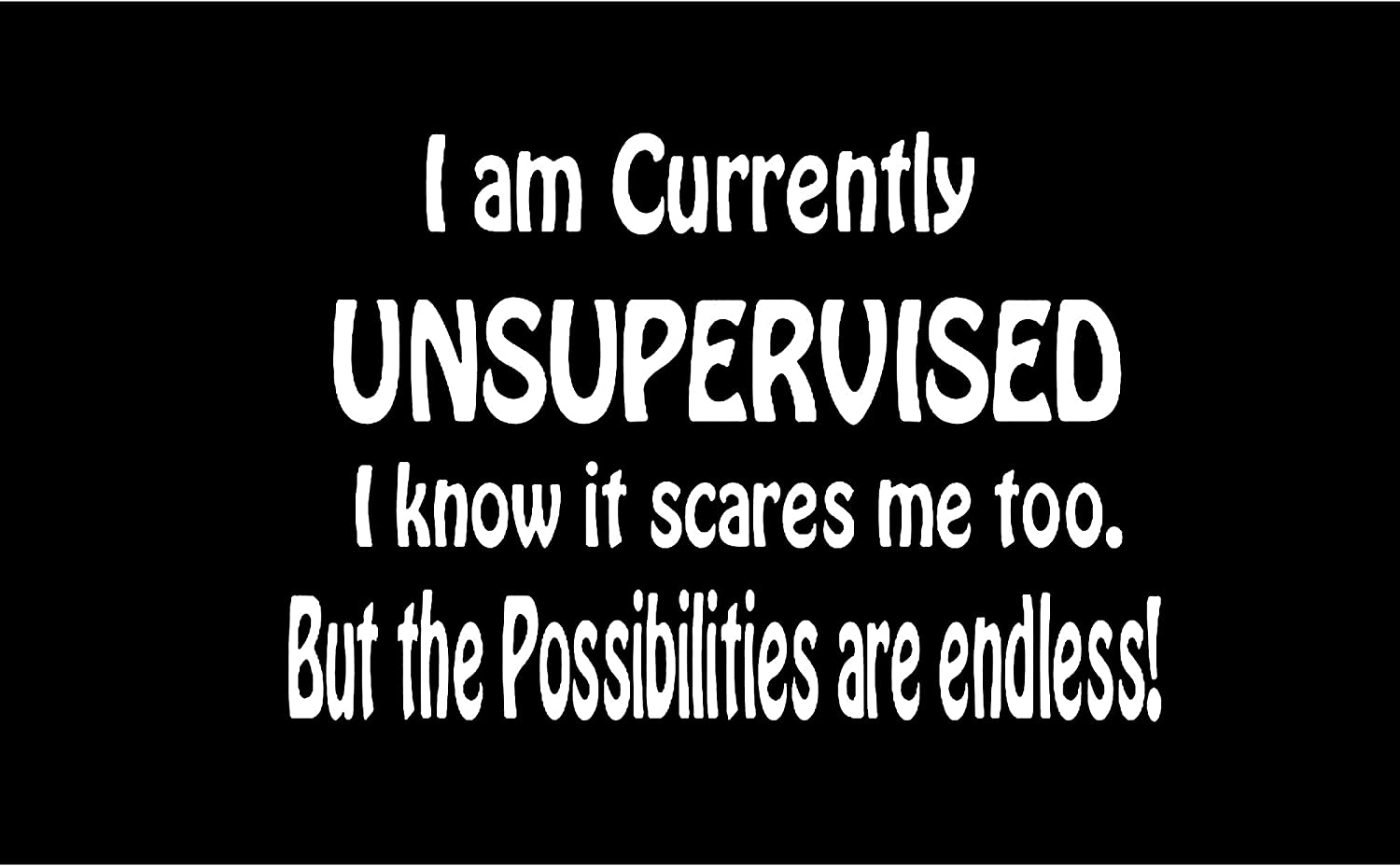 Lyprerazy I AM Currently Unsupervised Workout Gym Funny Printed Tank Top