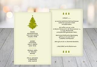 Kartenparadies Einladungskarte zu Weihnachten Einladung Bäumchen, hochwertige Weihnachtseinladung zum zum zum Selbstgestalten (Format  105x148 mm) Farbe  Grasgruen B01N7ROACK  König der Quantität 9b27e1