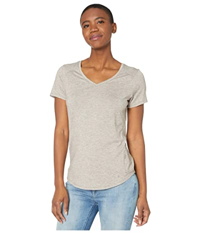 Royal Robbins Round Trip Drirelease(r) Short Sleeve Top (Light Taupe Heather) Women