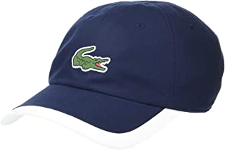 Lacoste Men's Sport Big Croc Semi Fancy Microfiber Cap