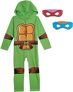 Nickelodeon Teenage Mutant Ninja Turtles Jungen Kostüm Overall mit Maske