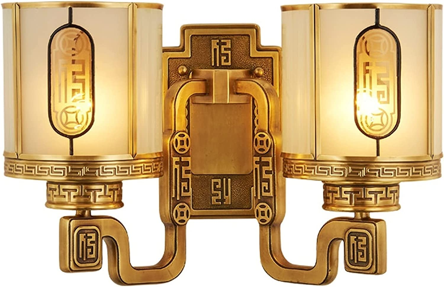 jinyi New arrival Living Kansas City Mall Room Wall Lamp Light S Copper Chinese