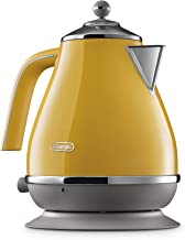 De'Longhi Icona Capitals Electric Kettle, Yellow, KBOC2001Y