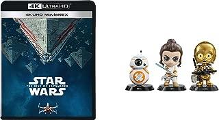 【Amazon.co.jp限定】スター・ウォーズ/スカイウォーカーの夜明け 4K UHD MovieNEX(HOTTOYSコラボレーション企画 オリジナルコスベイビー付き<REY,C-3PO,BB-8>) [4K ULTRA HD+3D+ブルーレイ+デジタルコピー+MovieNEXワールド] [Blu-ray]