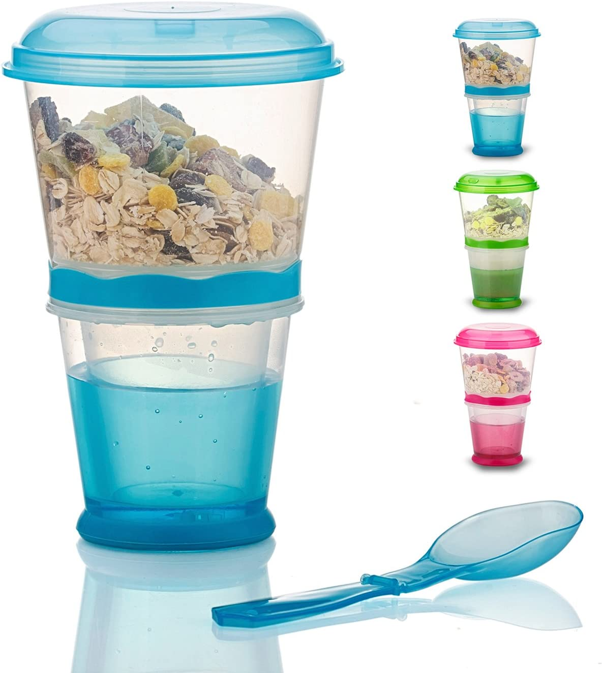 Cereal On The Max 83% OFF Go Cup Container Sales Breakfast Milk Cups Portab Drink