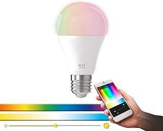 EGLO connect LED E27, żarówka Smart Home, 9 Watt (odpowiednik 60 Watt), 806 Lumen, z możliwością ściemniania, regulacja te...