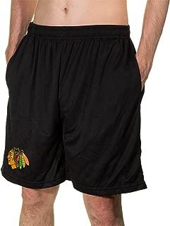 Calhoun NHL Men's Team Logo Air Mesh Shorts