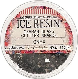 ice glitter black