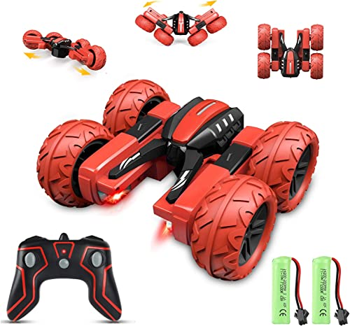 Apsung RC Stunt Car, Remote Control Car for Kids, 4WD Trucks RC Crawler Vehicles Toys 360° Flips Rotation Off Road fo...